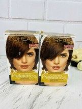 L'Oreal Superior Preference - 5-1/2AM Medium Copper Brown 2 pack FREE SHIPPING - $21.55