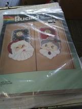 Bucilla Felt Stitchery Kit MR. & MRS. SANTA Door Knob Covers Set of 4 #8... - $12.72