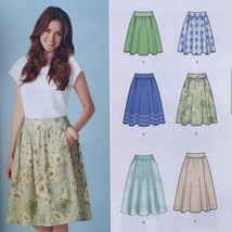 Simplicity Sewing Pattern 1369 Ladies Misses Skirt Size 6-14 New - $16.39