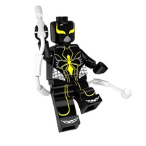 1 Pcs Super Heroes Figure Spider Man Mark 2 Fit Lego Building Block Mini... - $6.99
