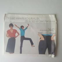 Vintage Vogue American Designer 2442 Calvin Klein Jeans Skirt Pattern Si... - $15.83