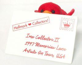 Hallmark Keepsake Ornament 1997 Artists on Tour First Class Thank You Red Bird image 3