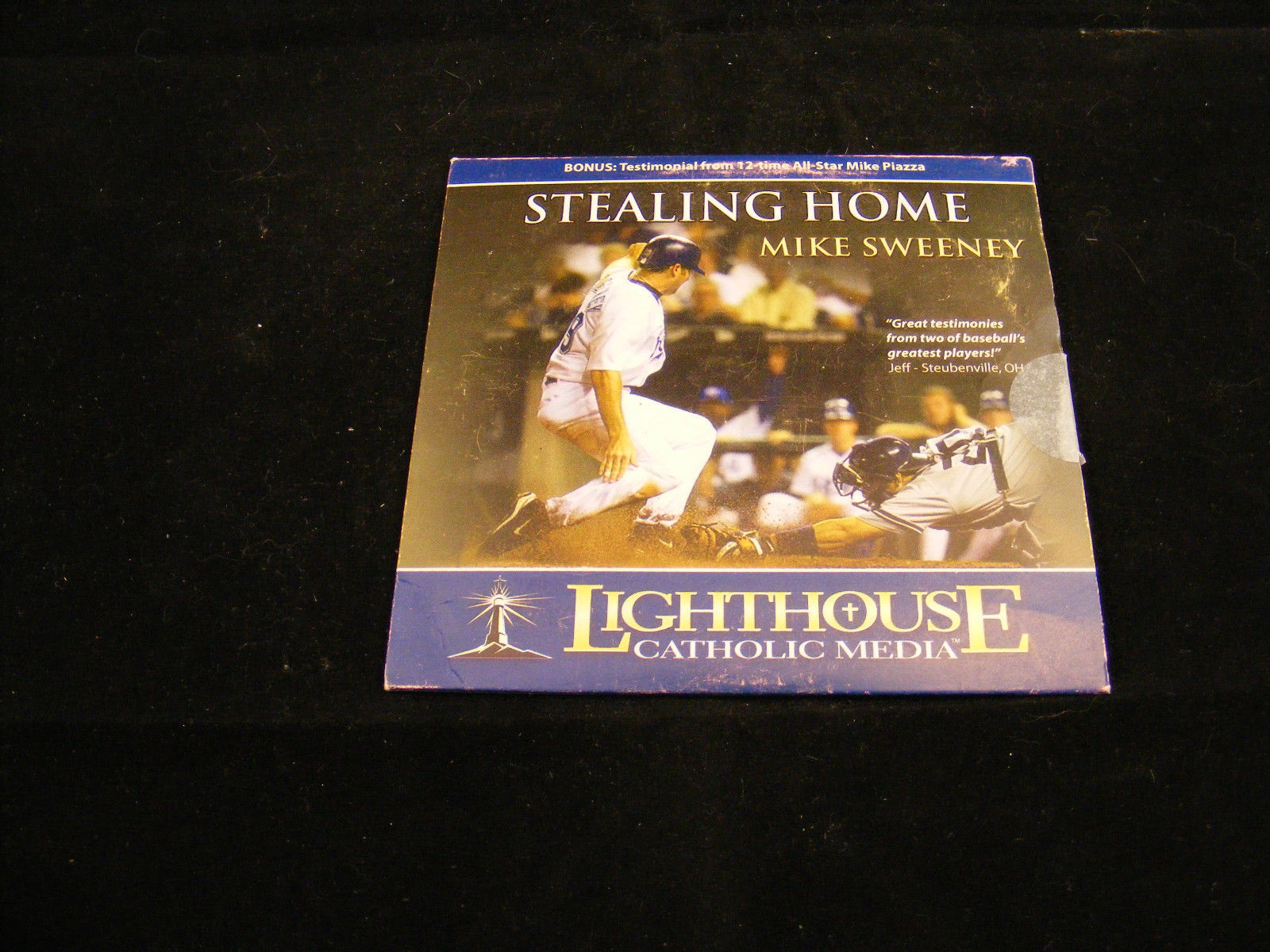 Primary image for Stealing Home Mike Sweeney CD AUDIOBOOK - Lighouse Media  -Religious