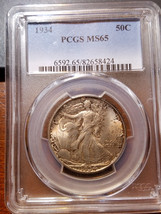 1934 Walking Liberty Half MS 65 PCGS           11379-270 - $524.95