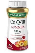 Nature's Bounty CoQ-10 Gummies, Heart Health, 200mg, Peach-Mango Flavored, 60 ea - $19.99