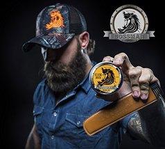 Bossman Relaxing Beard Balm - Nourish, Thicken and Strengthen Your Beard Gold image 3