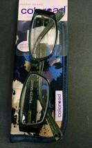 Foster Grant Coloread Fashion Reading Glasses w/ Case, Posh, Blue, +1.50 - $5.00