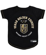 NHL LAS Vegas Golden Knights Tee Shirt for Dogs & Cats, Large. - are You... - $13.64