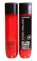 Matrix Total Results So Long Damage Shampoo & Conditioner Duo, 10oz Each - $34.64