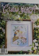 Cross Stitch 20 Patterns Heart Blessing Bird Fairy Kitty Welcome Noahs Ark 3/93 - $9.99