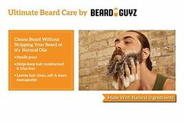 Best Mens Beard Wash - Made with Natural Oil and Extracts - No More Dry or Irrit image 3