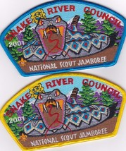 Snake River Council JSP - National Scout Jamboree 2001 (Blue & Yellow Bo... - $20.00