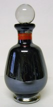 Murano-style Stoppered Perfume (?) – Lavorazione – Electric blue - $30.00