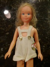Vintage BARBIE Doll Sis SKIPPER Quick Curl Hong Kong Blonde - $42.46