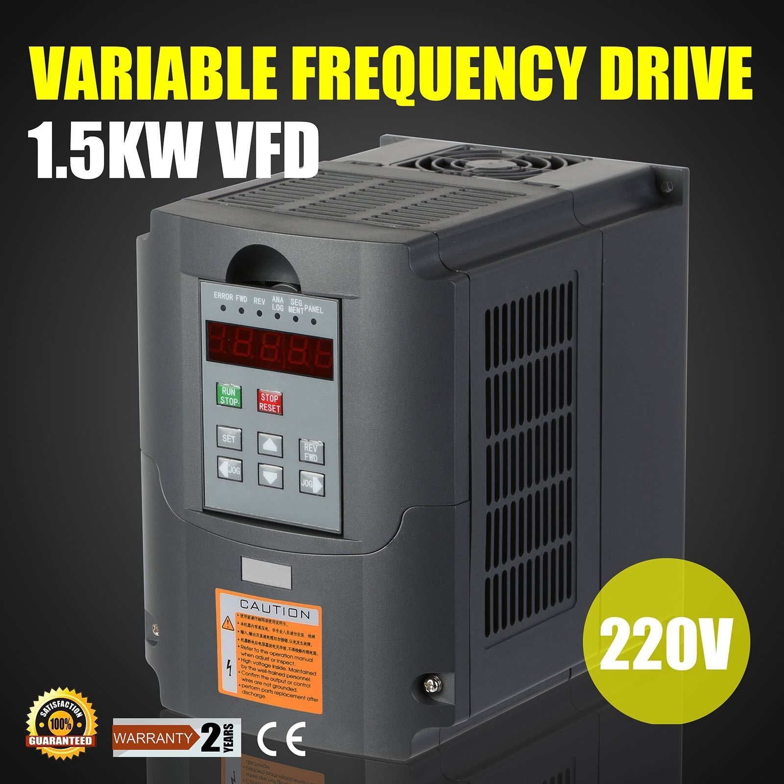 Static Inverter Drive : Frequency inverter for sale only left at
