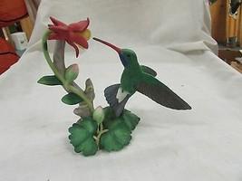 LENOX BROAD-BILLED HUMMINGBIRD Garden Bird sculpture NEW in BOX w/COA - $69.99
