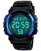 Kids Digital Watch, Boys Sports Waterproof Led Watches With Alarm Wrist Watches