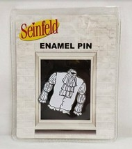 "NEW SEALED 2020 Culturefly Seinfeld 1.5"" Jerry Puffy Pirate Shirt Metal Pin - $13.99"