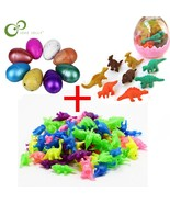 21pcs/set Dinosaur lovers Magic Add Water Hatching Growing Dinosaur Mini... - $16.19