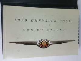 1999 Chrysler 300M Owner's Manual With Case - $16.14