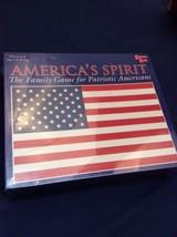 AMERICA'S SPIRIT BOARD GAME Patriotic Family Trivia Board Game - $5.70