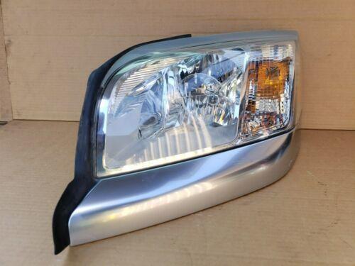 06-09 Mitsubishi Raider Headlight Head Light Lamp Driver Left LH - POLISHED