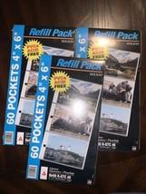 "3 Packs Of Holson 4x6 Refill Photos  R-GTC46 60 4""x6"" Packets Each New - $19.80"