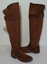 Frye Size 7 M SHIRLEY Brown Leather Over The Knee Riding Boots New Women... - $494.01