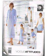 Vogue Attitudes 2117 Sewing Pattern for Easy Wardrobe by Jennifer George - $10.95