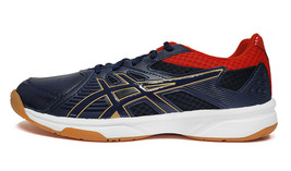 ASICS Court Break Badminton Shoes Unisex Indoor Sport Navy Red NWT 1071A... - $65.61