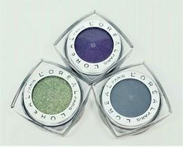 Lot of 3 Shades L'Oreal Paris Infallible Eye Shadow 24 Hr Waterproof Qui... - $10.84