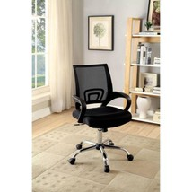 Furniture of America Loureen Contemporary Office Chair, Black  - $128.58