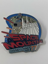 Stitch Mickey Mouse Space Mountain DLR Disneyland '77 Disney Spinner Pin - $12.19