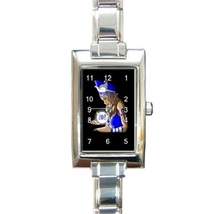 Ladies Rectangular Italian Charm Watch Zeta Phi Beta  Gift model 38283392 - $11.99