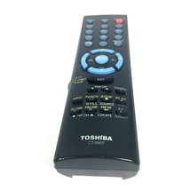 Toshiba Remote Control Model CT-9952 OEM , Multi function TV, VCR, Cable, Black - $9.85