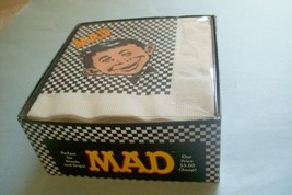 Unopened Package of 1993 Alfred E. Neuman Cocktail Napkins   Mad Magazine - $19.11