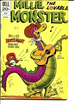 Millie The Lovable Monster #6 1973-Dell-wacky humor-Bill Woggon-VG - $37.83