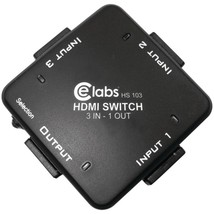 CE labs HS103 3-In, 1-Out Auto HDMI Switcher - $47.66