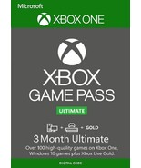 3-Month XGP Xbox Game Pass Ultimate Xbox ONE/PC code [DIGITAL] /n - $32.44