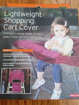 Eddie Bauer LIghtweight Shopping Cover Highchair Cover Purple new - $25.73