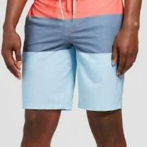 """Goodfellow & Co Board Shorts Size 30 10"""" Ins. Stretch Red Trooper 8- 25 - $14.84"""