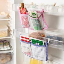 1pcs Kitchen Refrigerator Hanging Storage Bag Food Organizer Fridge - $3.99