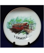 1986 Vermont Covered Bridge Collector's Plate by Green Mountain Studios ... - $29.99