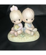 Precious Moments Love One Another 272507 Collectible Figurine 1996 - $39.99