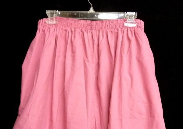 P.R.N 1067 Elastic Waist Uniform 5XL Geranium Pink Scrub Pants Bottom New image 12