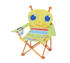 Toddlers Chair Beach Folding Junior Kids Picnic Lawn Camping Garden Sun ... - $41.16