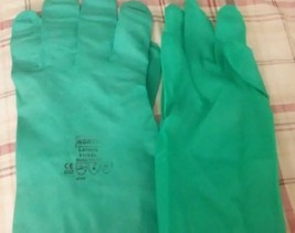 GLOVES NORTH 11/XXL Nitrile Chemical LA102G NITRIGUARD- 1 pair - $5.00