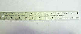 Mayes Brothers Tool MFG 10186 Construction Aluminum 12in Ruler pack of 2... - $41.58