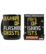 NEW SEALED Zak Pac Man Color Changing Coffee Mug - $19.79