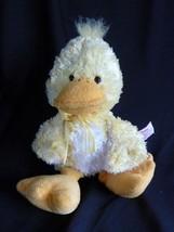 RUSS Berrie Yellow DUCK SUNFLOWER Plush Stuffed Animal - $12.69